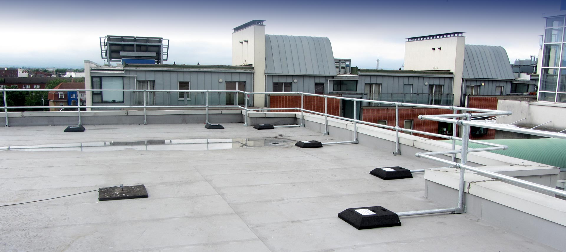 Roof Guardrail Systems